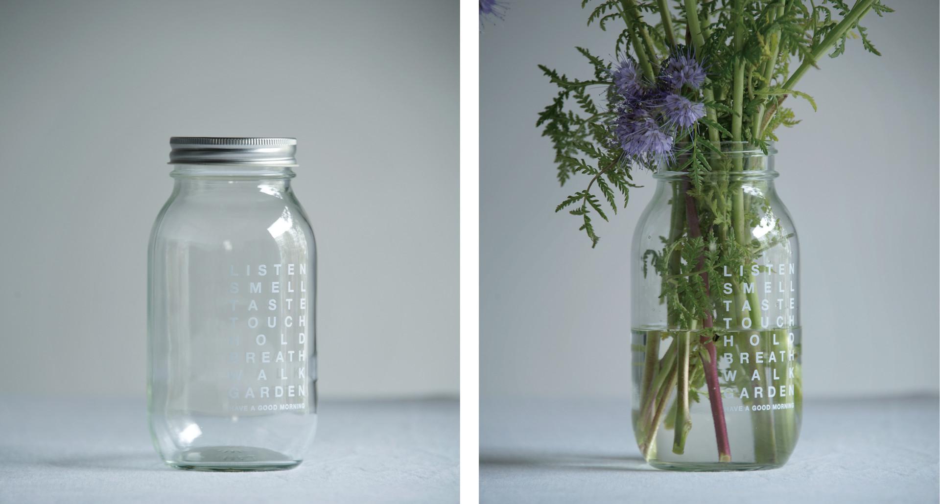 "2017' Slow Flower Life ""Feel Jar"""