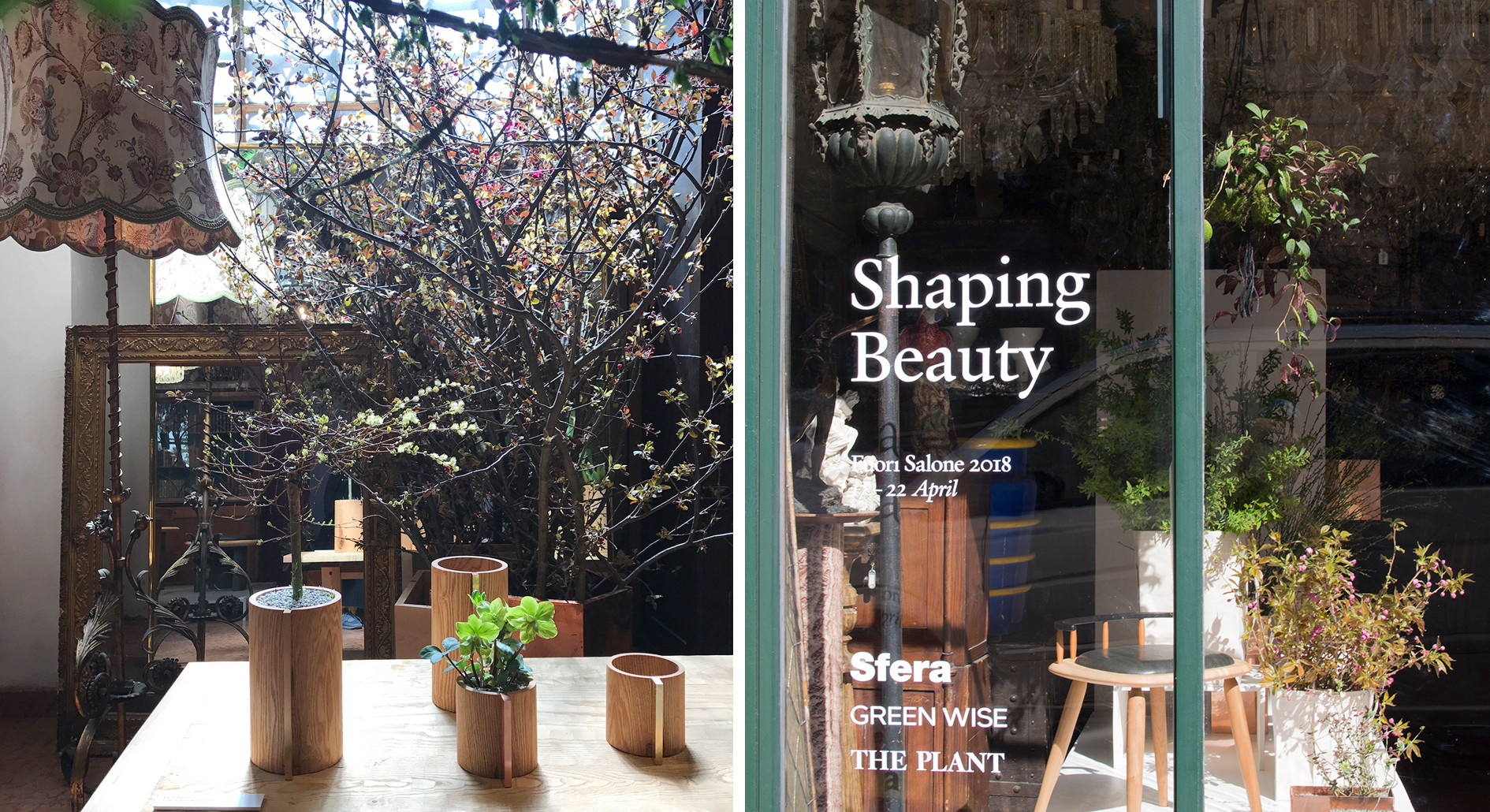 "2018.4 Slow Flower Life ""Shaping Beauty"" for Salone Del Mobile"