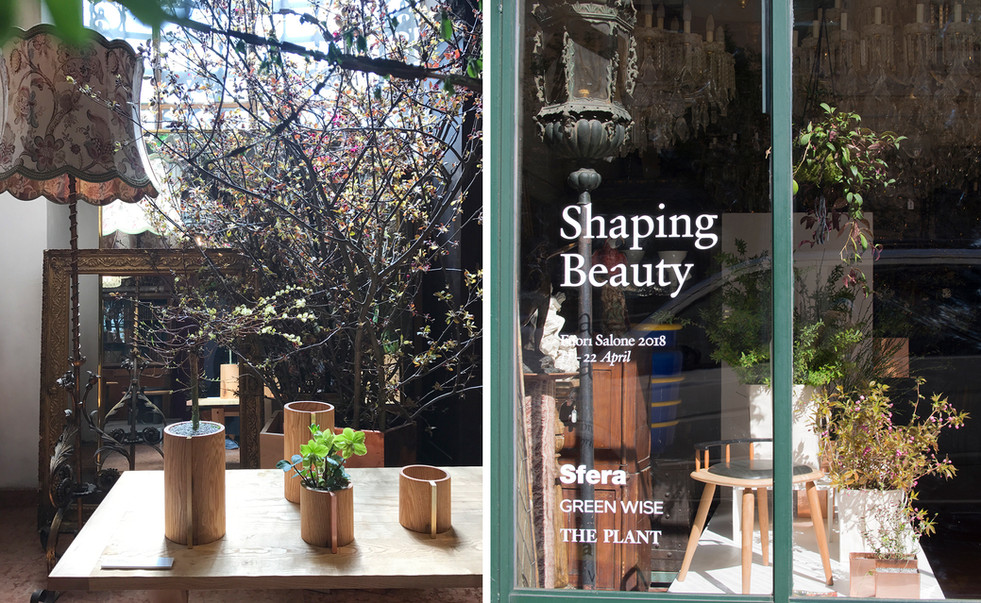 """2018.4 Slow Flower Life """"Shaping Beauty"""" for Salone Del Mobile"""