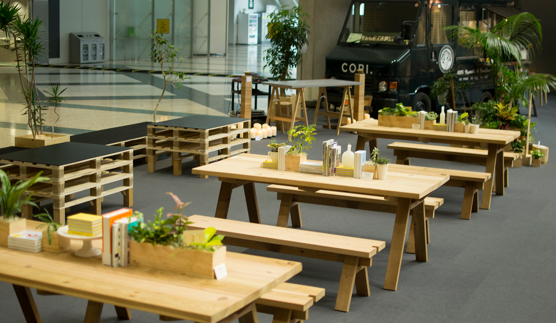 Early Birds Cafe at Interior Lifestyle Tokyo 2014