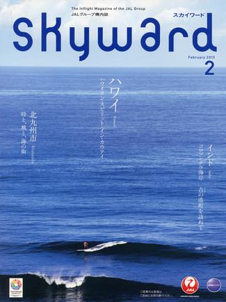 Skyward magazine cover.