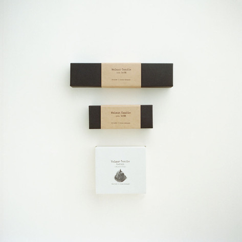 Examples of the different sets: standard, mini, and refill.
