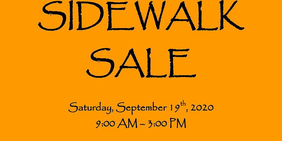 Maple Place Inc.'s Fall Sidewalk Sale