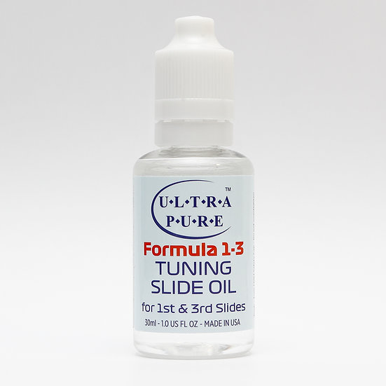 Ultra-Pure Formula 1-3 Tuning Slide Oil