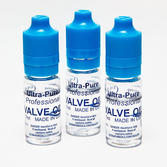 Travel Pack of Three (3) Ultra-Pure Professional Valve Oil 7ml