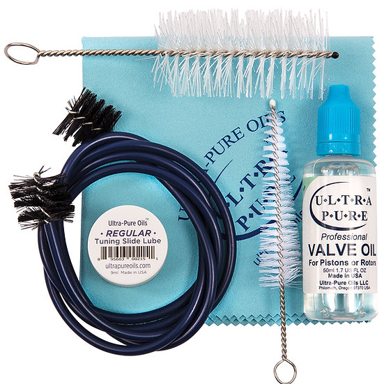 Ultra-Pure Deluxe Low Brass Care Kit