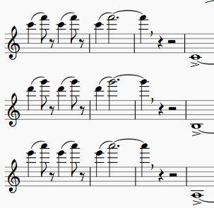 Trumpet High Range Exercise