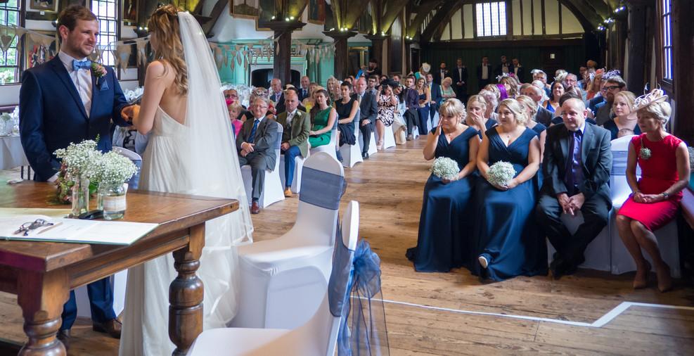 Emotion in York Wedding