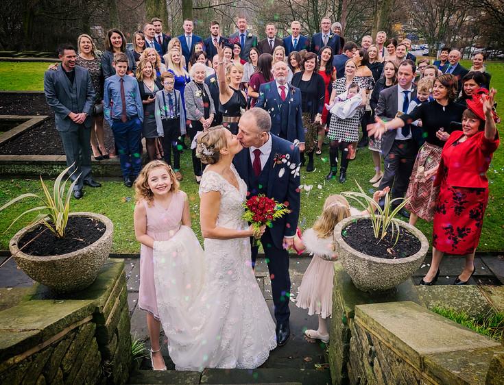 Wedding Guests Shot
