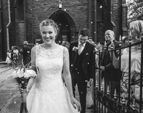 A Range of Wedding Reactions