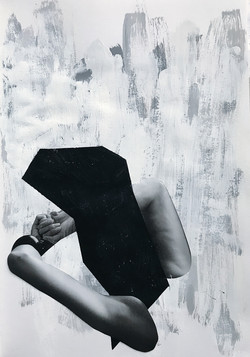 Recline with Black Form, 2018