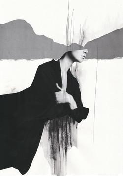 Untld Figure with Black Coat