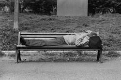 Man Sleeping, 2017