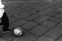 Kid with Soccer Ball, 2017