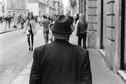 Man with Hat, 2017