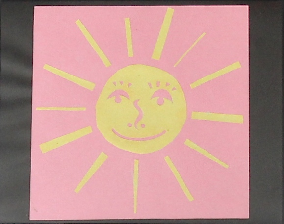 Pink and Yellow Sunny, 2017