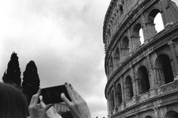 Iphone and Colliseum, 2017