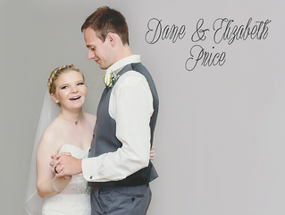 Congratulations Dane & Elizabeth Price!
