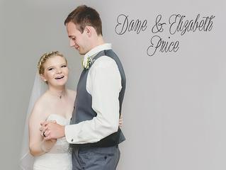 Congratulations Dane & Elizabeth Price!