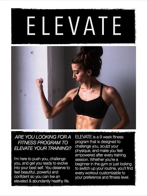 ELEVATE: 9 Week Fitness Program