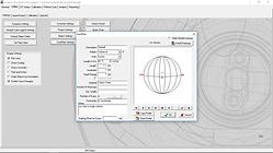 Sphere Plan Using B-Scanning Software