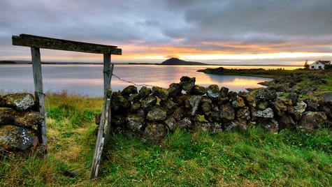 jezero Mývatn, oblast Mývatn