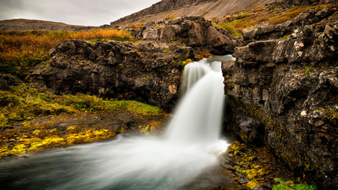 Hæstahjallafoss, vodopád u Dynjandi