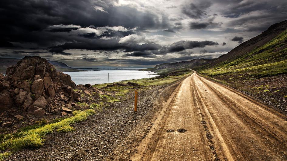 Západní fjordy, okolí silnice 60, jižní část