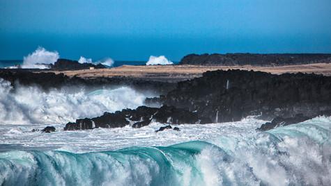 pobřeží v národním parku Snaefellsjokull