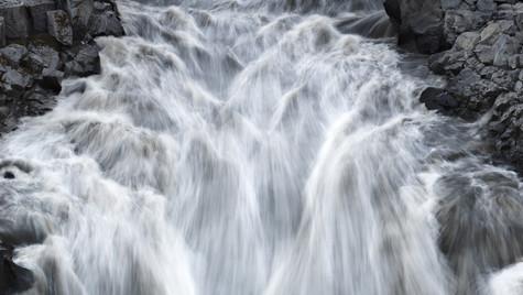 vodopády po cestě k Askja