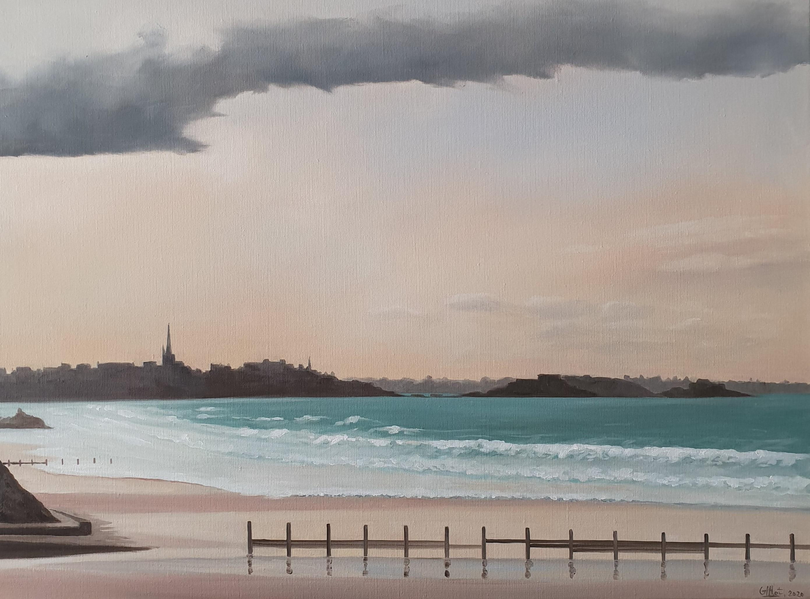 Saint Malo après le grain