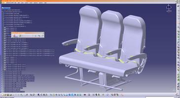 Airliner Seats, Plastic Parts Design by Solaris Design