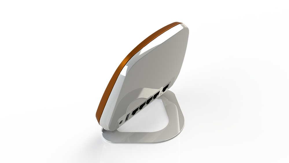 Airnet Router Design by Solaris Design