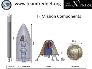 SPACE TECHNOLOGY/SPACECRAFT DESIGN: Google Lunar X Prize contender Team Frednet wins NASA's Inno