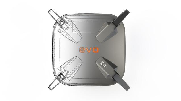 Evo X4 Router Design by Solaris Design