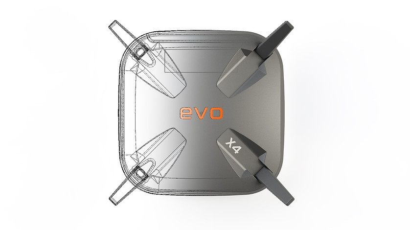 Evo X4 Router Design by Solaris Design