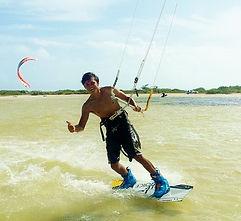 kite surf Cancun Mexico