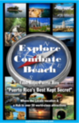 Explore Combate Beach - Tour Map Cover