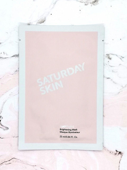 Осветляющая маска для лица Spotlight Saturday Skin