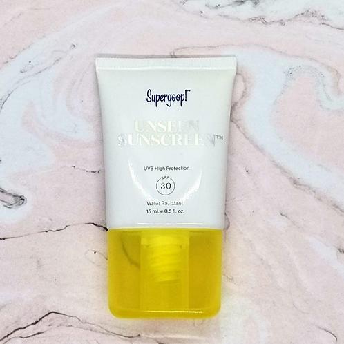 Солнцезащитный крем Supergoop unseen sunscreen