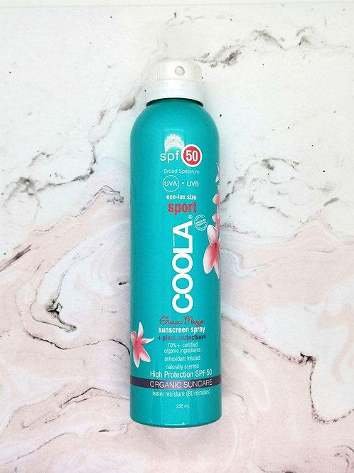 Cолнцезащитный спрей для тела Coola