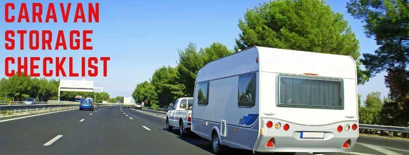 Caravan Storage Checklist