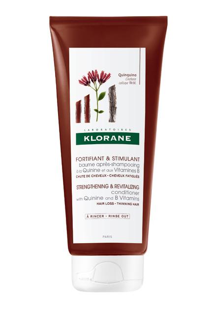 Destinado a cabellos fatigados o como complemento a los tratamientos anticaída. Refuerza la estructura del cabello y estimula su crecimiento. (13,50 €)