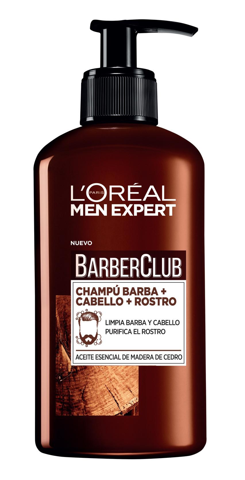 Elimina restos de descamación, residuos y  olores de la barba. Limpia y suaviza el cabello. Refresca y purifica el rostro. (7€)