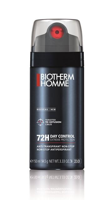Máxima intensidad: acción antitranspirante hasta 3 días. 72 horas de protección en situaciones extremas (disponible en spray y roll-on). (P.V.I: 26€/150ml)