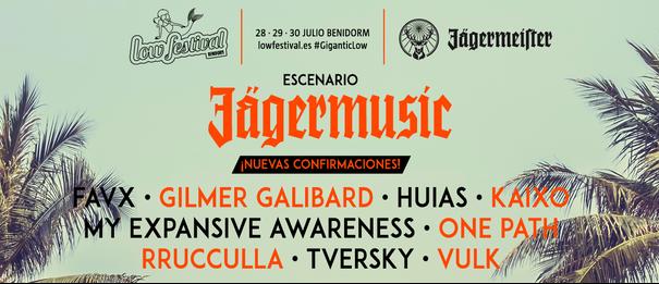 Confirmados por Jägermusic en el Lowfestival