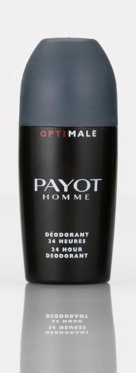 Roll-on desodorante de Optimale de Payot para una eficacia 24horas. 75ml. P.V.P. 20,50€