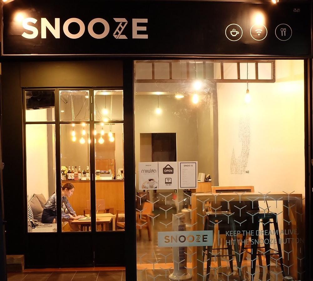 Snooze Coffe House. Fuente: http://www.snoozebangkok.com