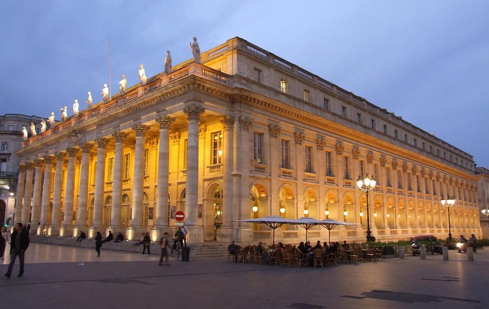 Gran Teatro de Burdeos. Fuente: cisplanet.blogspot.com