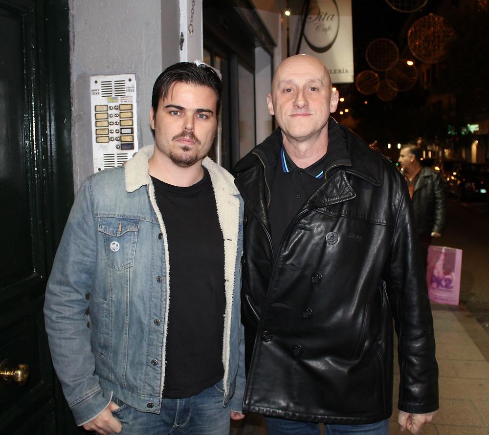 José Cabrera de EJT y Jorge Martínez de Ilegales